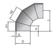 PPH对焊手工件
