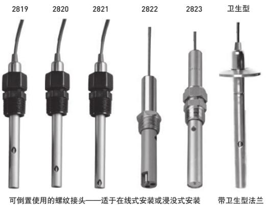 +GF+ Signet 2819-2823电导率/电阻率电极