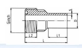 PP-H 对焊管件 活接衬套