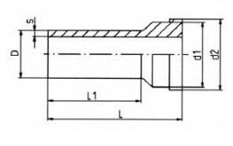 PP-H 对焊管件 活接头