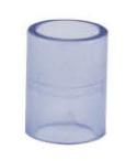 国标/美标PVC 透明直接头